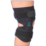 "Gripper™ Hinged Knee Brace - 12"" Neoprene - The Gripper™ Hinged Knee Brace provide"
