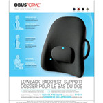 ObusForme Lowback Backrest Support - Our original, award-winning backrest support, the ObusForme Lowb