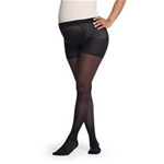 Soft Opaque Maternity Pantyhose - Fashionable opaque hosiery for professional and everyday wear<br