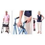 EZ Fold & Go Walker - The EZ Fold & Go Walker from Stander is the world's most lig
