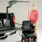 Curb-Sider® Lift - Available for a wide variety of vehicles, the Curb-Si